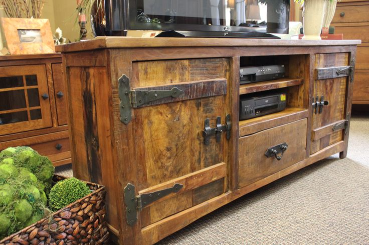 best 25 rustic tv stands ideas on pinterest tv stand ideas for living room build a tv stand. Black Bedroom Furniture Sets. Home Design Ideas