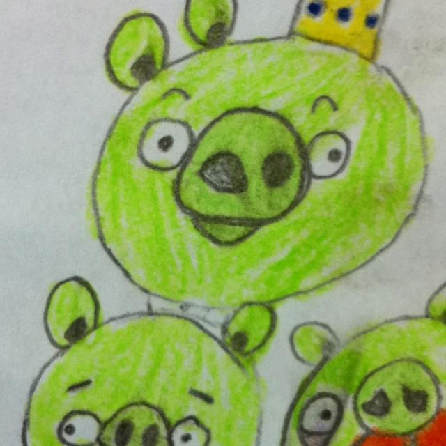 Pigs by Rafa