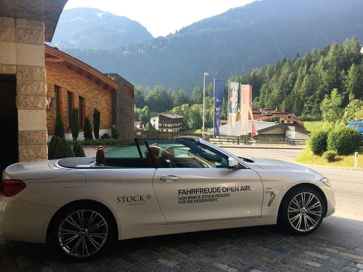 RENT A BMW CABRIO @ STOCK resort, Zillertal, Tyrol