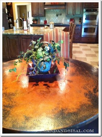 25 best copper tables images on pinterest copper coffee tables love hammered copper tables watchthetrailerfo