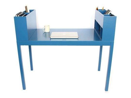 So Many Reasons To Love This Desk, But Here Are My Top Three: Happy Color  Built In Organization Compartments Sides Function As Short Privacy Screens  Paul ...