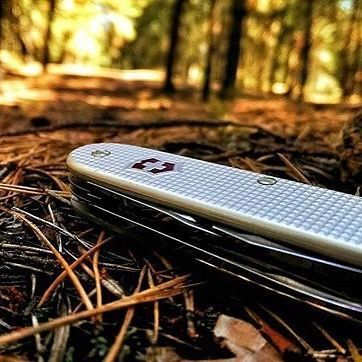 Victorinox Pioneer Soldier Ribbed Alox Silver 93mm  This robust model combines the most important functions including a reamer.  Follow the link to make your purchase today!!