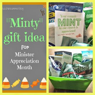 Best 25 gifts for pastors ideas on pinterest pastor minister appreciation month pastor appreciation gift idea your commit mint to our church negle