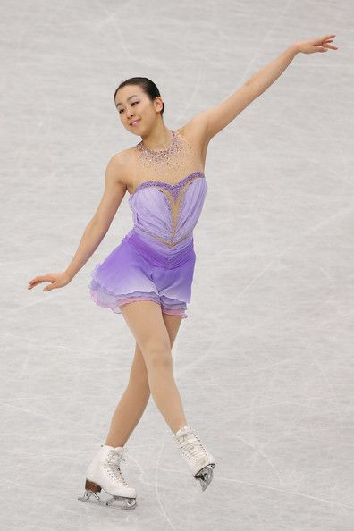Mao Asada of Japan reacts after the Ladies Short Program during ISU World Figure Skating Championships at Saitama Super Arena on March 27, 2014 in Saitama, Japan.