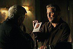 William Petersen and Ralph Waite in CSI: Crime Scene Investigation (2000)