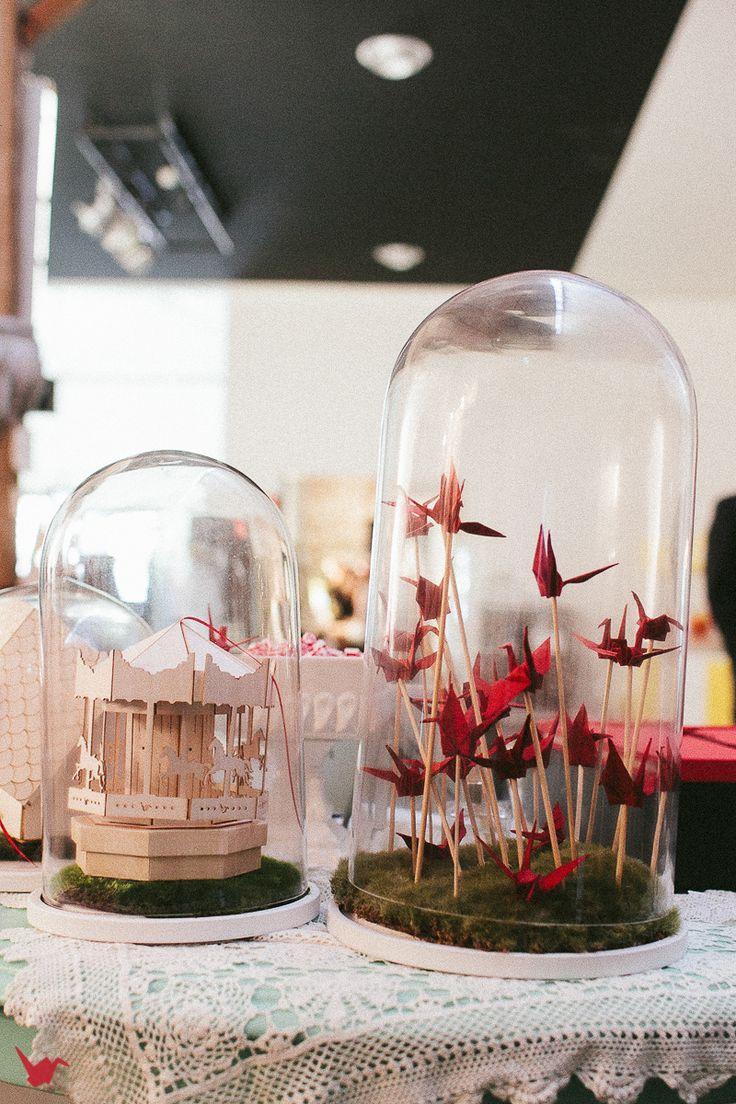 glass cloche domes