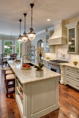Kitchen pantry in other with an undermount sink raised panel cabinets - 1000 Ideas About Traditional Kitchens On Pinterest