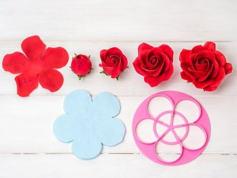 Kirschblüten aus Blütenpaste I Gumpaste cherry blossoms Tutorial I Fondant I Tortendekoration - YouTube