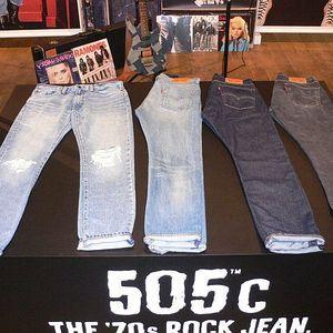 リーバイス505にパンクロックの要素を加えたジーンズ505Cを発売