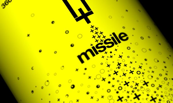 Missile - Energy Drink Identity by Robinsson Cravents, via Behance