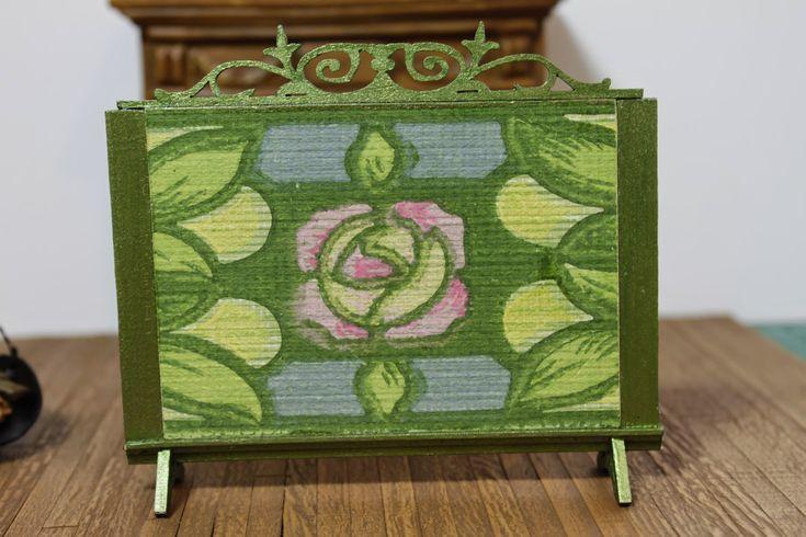 Myrtle Manor Miniatures: Fire Screen Tutorial - Part 1