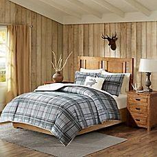 image of Woolrich® Winter Sky Comforter Set in Navy