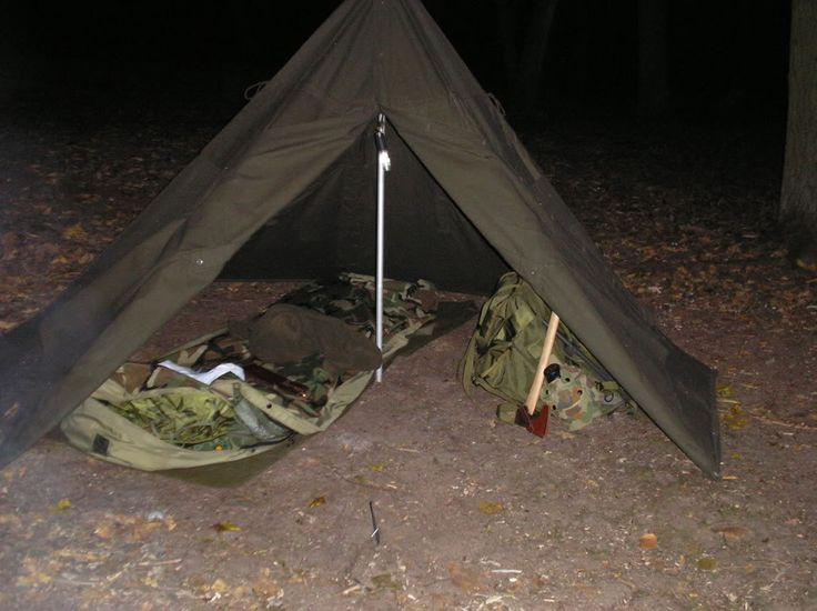 Polish Army 2 Man Bell Tent Bushcraft Pinterest