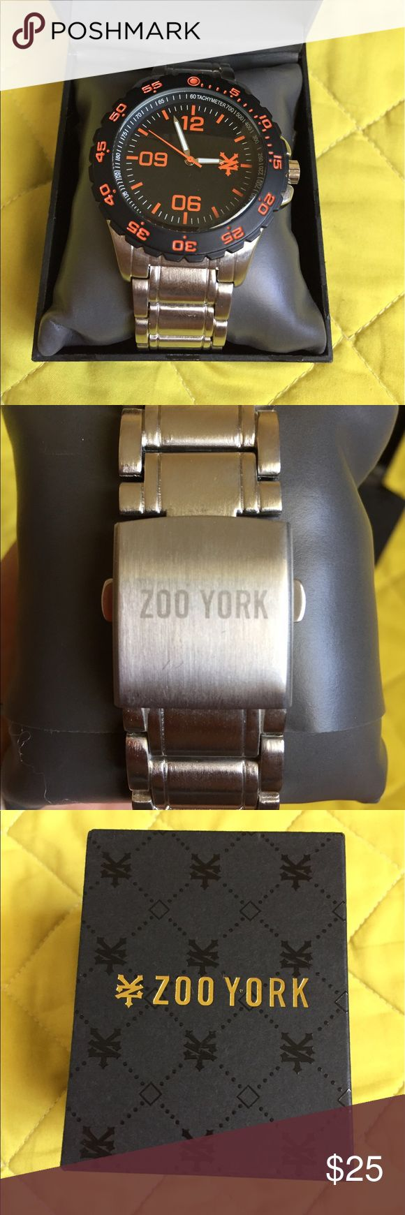 Zoo York watch Brand-new  in original box orange and black. Great gift idea! Zoo York Accessories Watches
