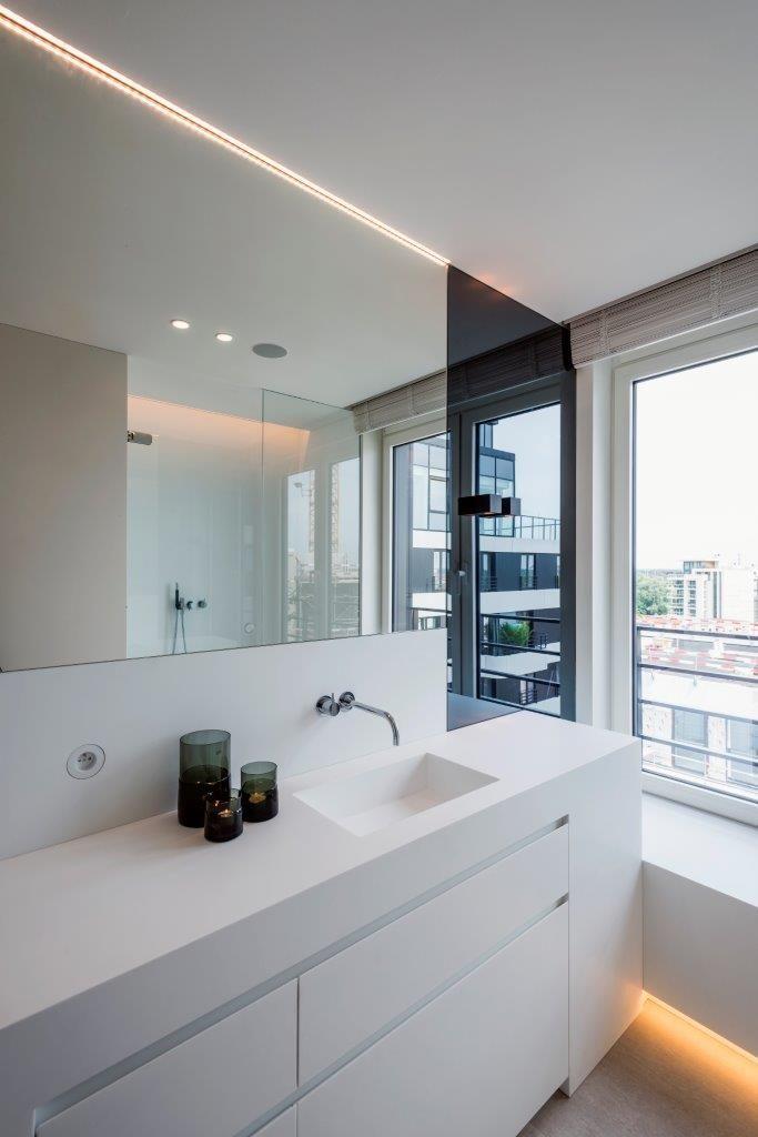 KRION® Blog – Porcelanosa Solid Surface » KRION® en una vivienda particular en Hasselt – Bélgica