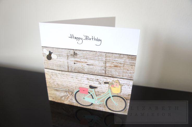 Handmade birthday card - perfect for anybody! Available at: www.etsy.com/uk/shop/EMJLondon