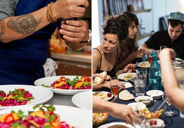 """Muitas vezes, dividir uma refeição pode ser sinônimo de se aprofundar na cultura de um local e conhecer melhor o costume de seus habitantes. É também uma maneira simples e gostosa de fazer novos amigos ao redor da mesa. Agora, um site brasileiro está unindo pessoas que gostam de cozinhar com visitantes que desejam explorar novos sabores ao oferecer jantares compartilhados. O Dinneer se define como o """"Airbnb dos jantares"""", mas o fundador da plataforma, Flavio Estevam, mostra que a proposta…"""