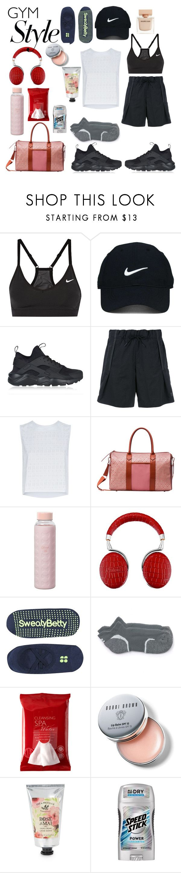 """""""Untitled #876"""" by adda21 ❤ liked on Polyvore featuring NIKE, Nike Golf, Under Armour, Ted Baker, Parrot, Sweaty Betty, Koh Gen Do, Bobbi Brown Cosmetics, Pré de Provence and Narciso Rodriguez"""