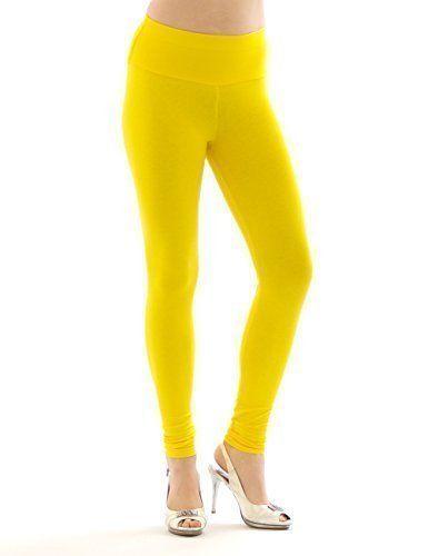 4250902212841 | #Damen #Leggings #Leggins #lang #hoher #Bund #gelb #XXXL