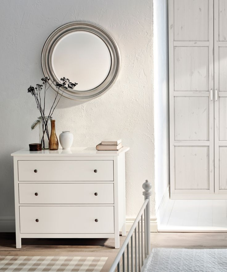 Your next stunning outfit, brought to you by this HEMNES 3-drawer chest.