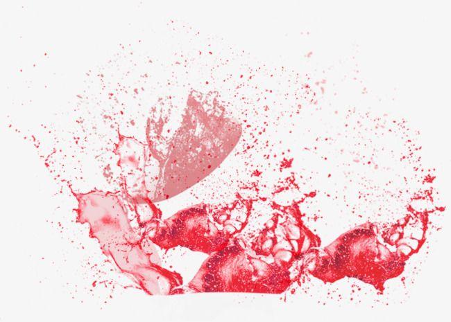 Red Juice Splash Effect Splash Effect Splash Abstract Artwork