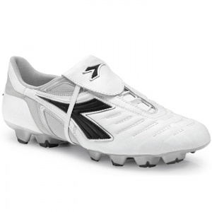SALE - Diadora Maracana RTX 12 Soccer Cleats Mens White Leather - Was $97.99 - SAVE $23.00. BUY Now - ONLY $74.99
