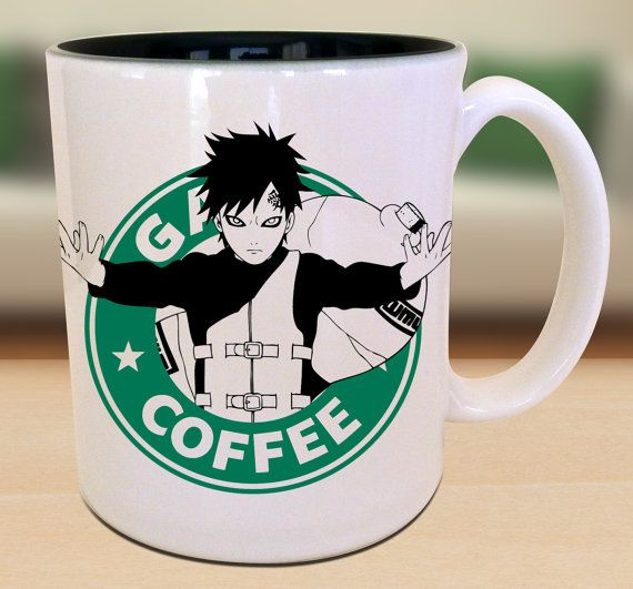 Gaara X Naruto X Starbucks Anime Manga by ...