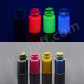 Fluorescent ink for ink jet printers 4 color set