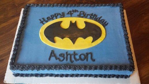Batman Sheet Cake By Bake My Day For The Fellas