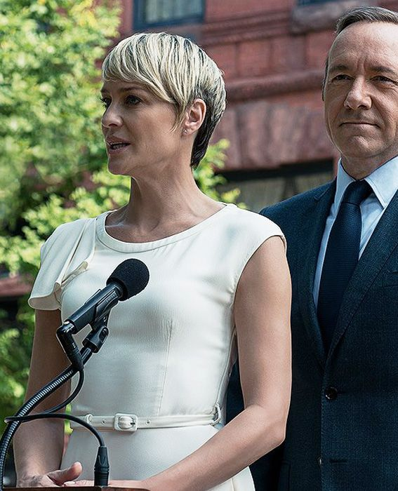 And the 2014 Best Actress Emmy Nominees Are ... - Robin Wright. This is Wright's second nomination for her role as Claire Underwood on House of Cards. #InStyle
