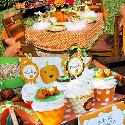 fall party theme birthday