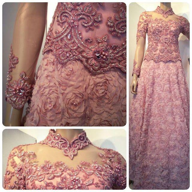 Nice pink kebaya dress