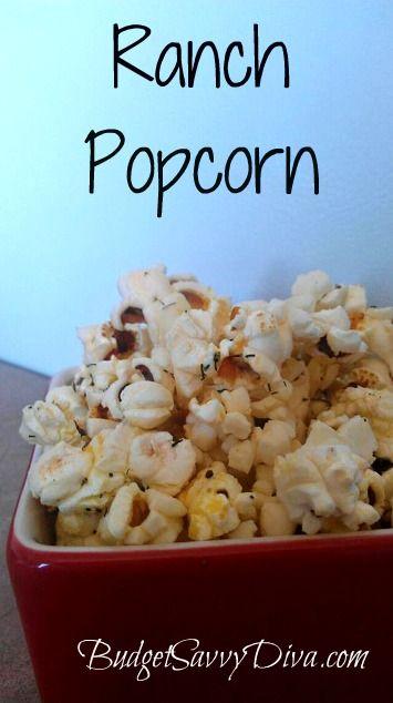 #vegan ranch popcorn