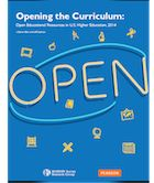 Opening the Curriculum: Open Education Resources in U.S. Higher Education, 2014