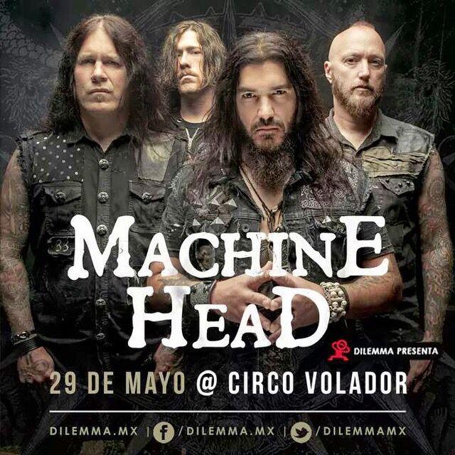 Machine Head  29/05/2015 Mexico City