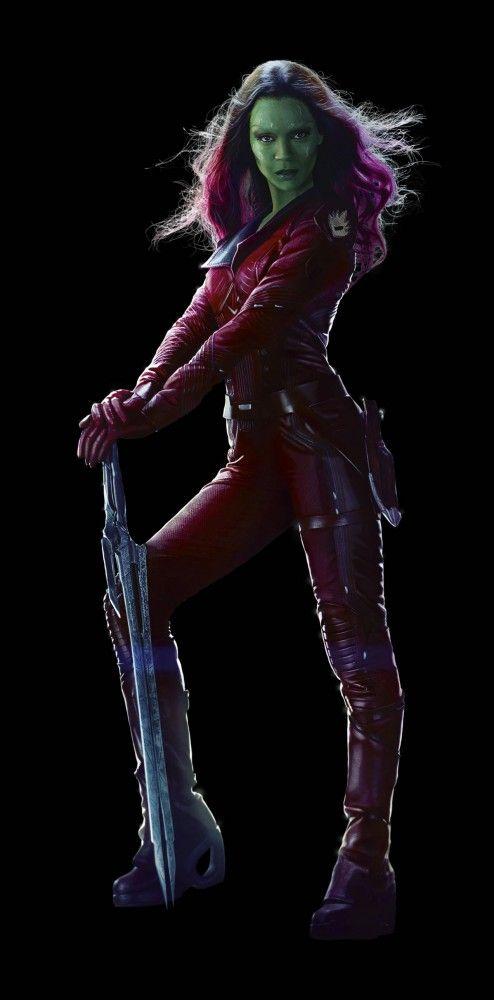Guardians Of The Galaxy Gamora | Heróis de Guardiões da Galáxia ganham imagens em alta resolução ...