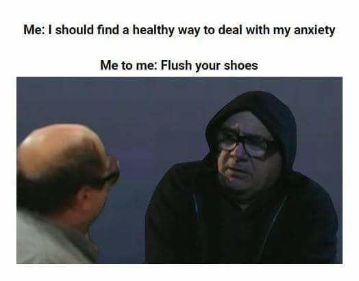 """This meme on anxiety.   23 Pictures All """"It's Always Sunny In Philadelphia"""" Fans Will Find Funny"""