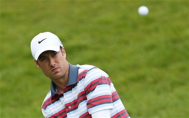 Englishman Ross Fisher in a rage after being fined £6,000 and having a point docked for slow play in Welsh Open