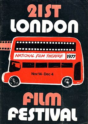 BFI London Film Festival poster 1977
