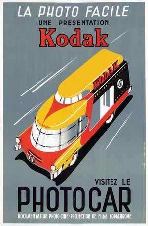 """""""Kodak, la photo facile !"""" Ancienne publicité #Kodak #Photographie #Publicité #Vintage"""