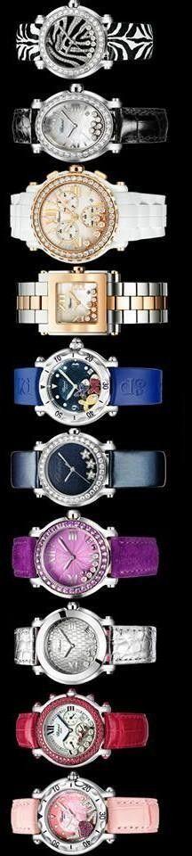 Chopard: Happy Sport watches | LBV ♥✤ | KeepSmiling | BeStayElegant
