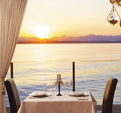 Six Seven Restaurant At The Edgewater Hotel Seattle Waterfront