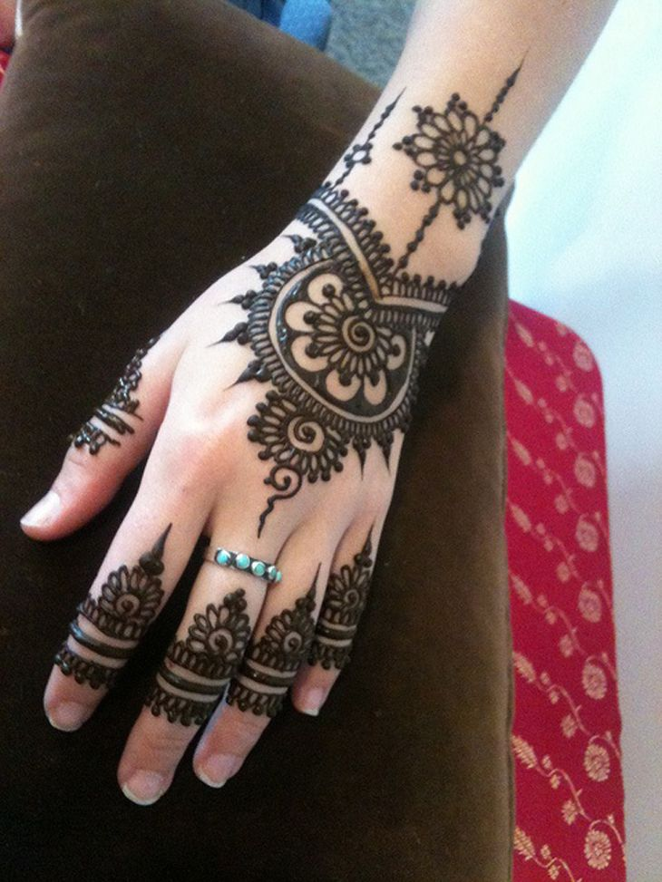 Beautiful Henna Tattoo Designs For Your Wrist: Henna Mehndi7 Beautiful Mehndi Designs