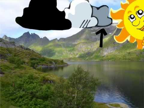 Veden kiertokulku puppet pals - YouTube