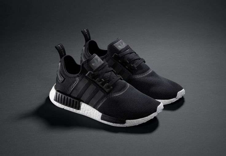 The adidas Originals NMD arrive in contrasting white and black colorways