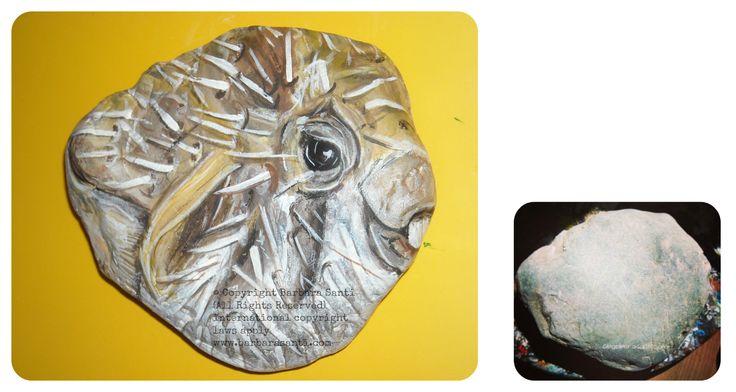 il mondo in un sasso: #tetraodonton:) © Copyright Barbara Santi (All Rights Reserved) international copyright laws apply