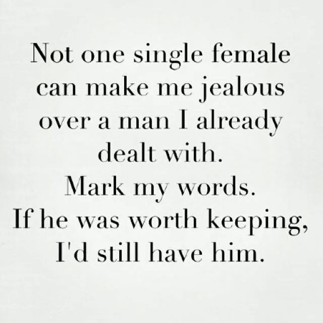 If he was worth keeping I would still have him
