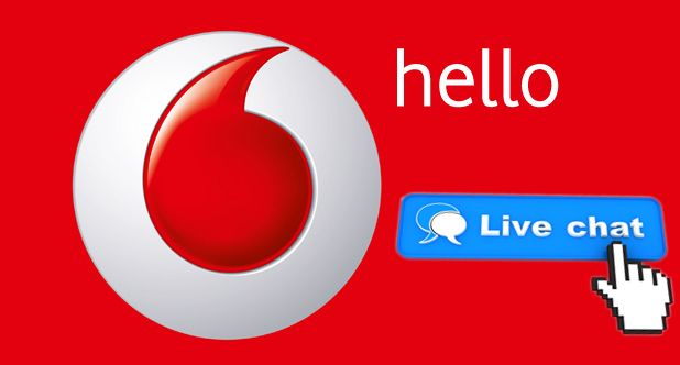 start vodafone live chat