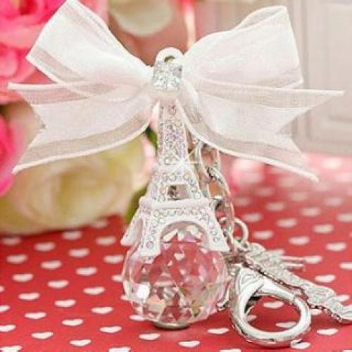 Eiffel Tower Jewel Key Chain