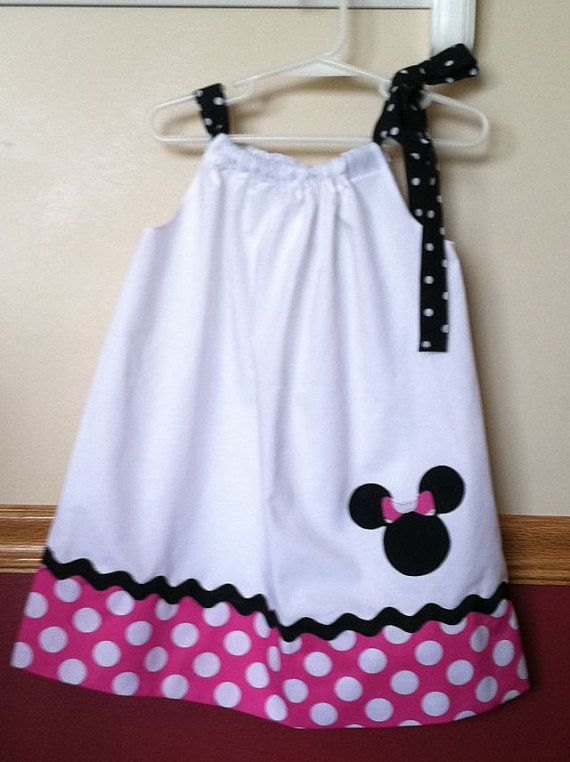 Minnie Mouse Inspired Pillowcase Dress Size to 8 & 2959 best PILLOW CASE DRESSES AND GIRLS\u0027 CLOTHES TUTORIALS images ... pillowsntoast.com